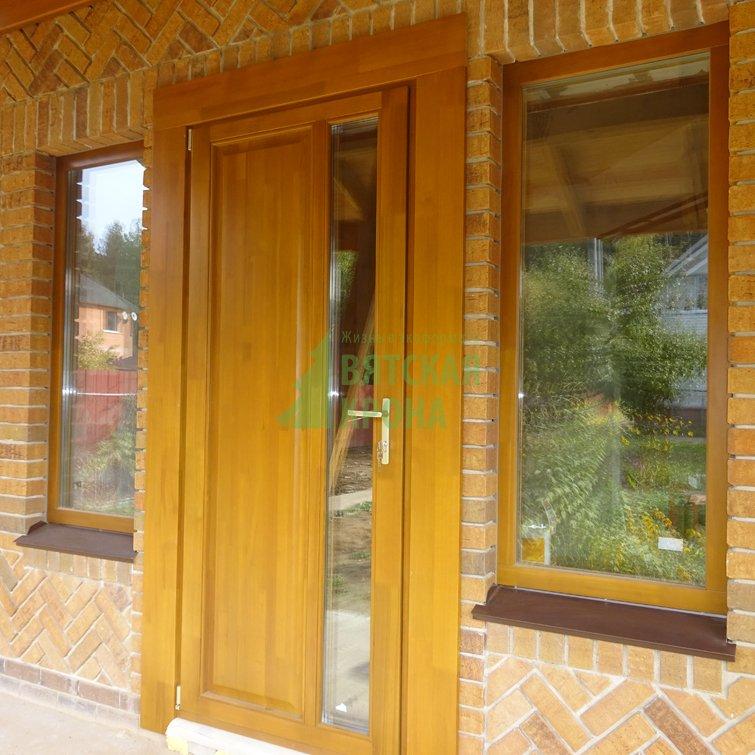 двери входные клееного